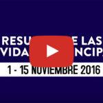 Resumen de actividades de la CCG – 1 al 15 noviembre