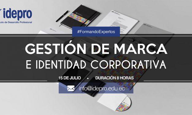 Gestión de Marca e Identidad Corporativa