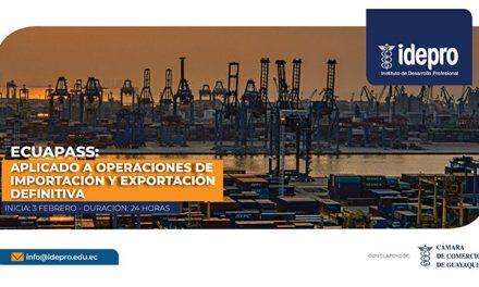 Ecuapass aplicado a operaciones de importación y exportación