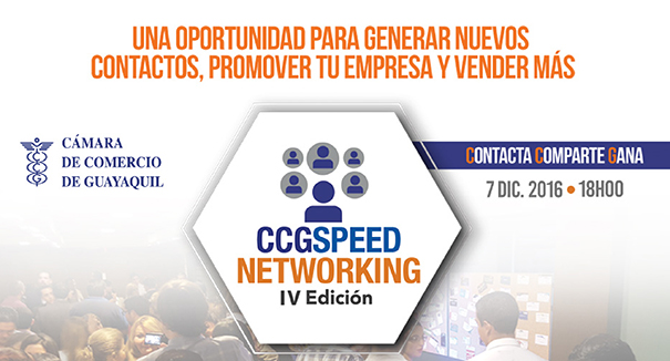 CCG Speed Networking – IV Edición