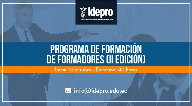 Programa de Formación de Formadores