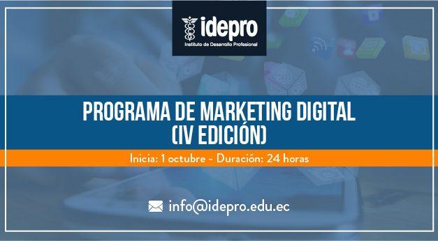 Programa de Marketing Digital