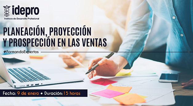 Planeación, proyeccción y prospección en las ventas