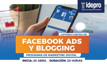 Captando clientes con Facebook ads y blogging