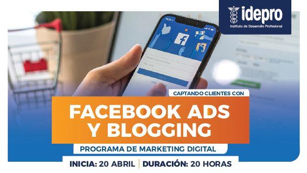 Captando clientes con Facebook ads y blogging