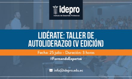 Lidérate: taller de autoliderazgo (V edición)