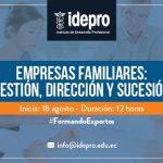 Empresas familiares: gestión, dirección y sucesión