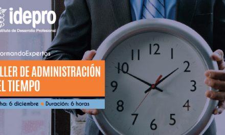 Taller de administración del tiempo