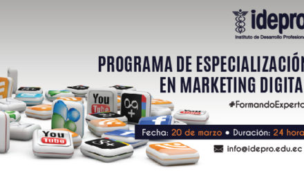 Programa de Especialización en Marketing Digital