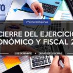 Cierre del ejercicio económico y fiscal 2016