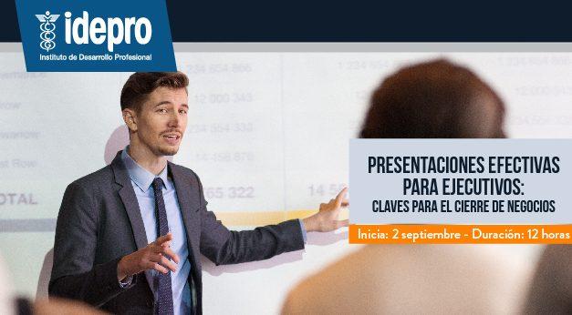 Presentaciones efectivas para ejecutivos