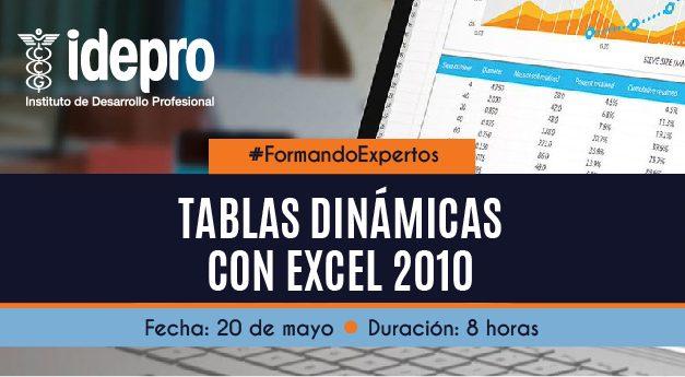 Tablas Dinámicas Excel 2010