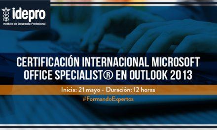 Certificación Internacional Microsoft Office Specialist