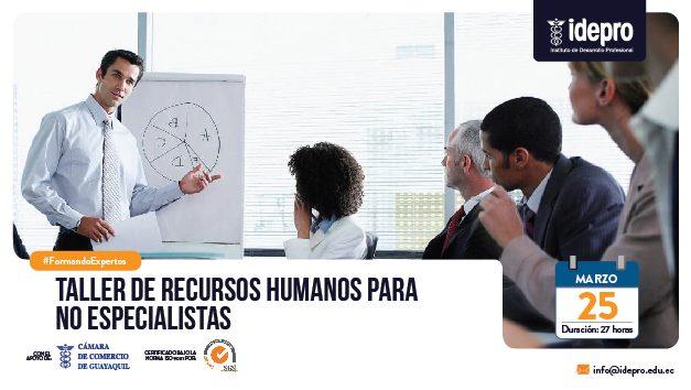 Taller de Recursos Humanos para no especialistas