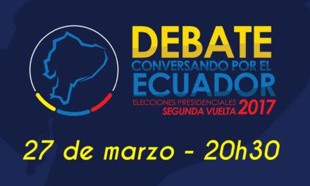 Debate conversando por el Ecuador
