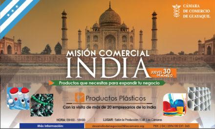 Misión Comercial India