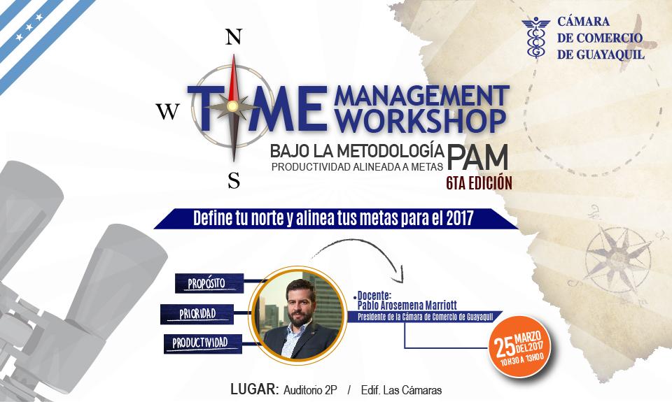 Time Management Workshop – VI edición