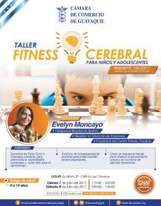 """""""Taller Fitness Cerebral para hijos de socios"""" con Evelyn Moncayo"""