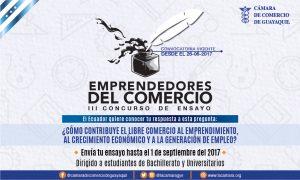"""Premiación del 3er Concurso de Ensayo """"Emprendedores del Comercio"""""""