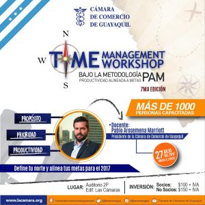 Time Management Workshop 7ma Edición con Pablo Arosemena