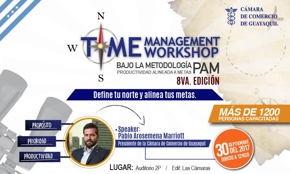 Time Management Workshop – 8va. edición