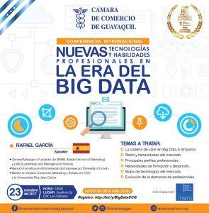 Nuevas Tecnologías y Habilidades Profesionales en la era del BIG DATA