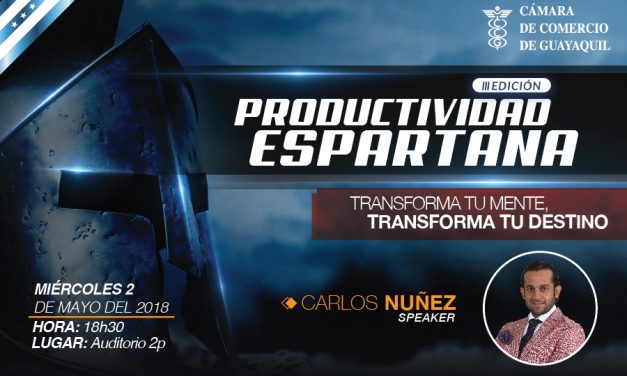 Productividad Espartana III edición