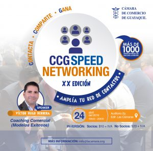CCG Speed Networking XX Edición @ Guayaquil