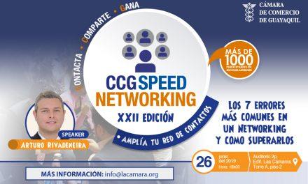 CCG Speed Networking – XXII edición