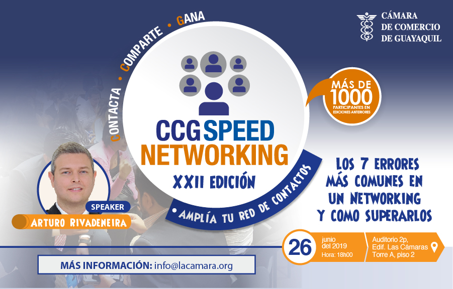 CCG Speed Networking – XXII edición