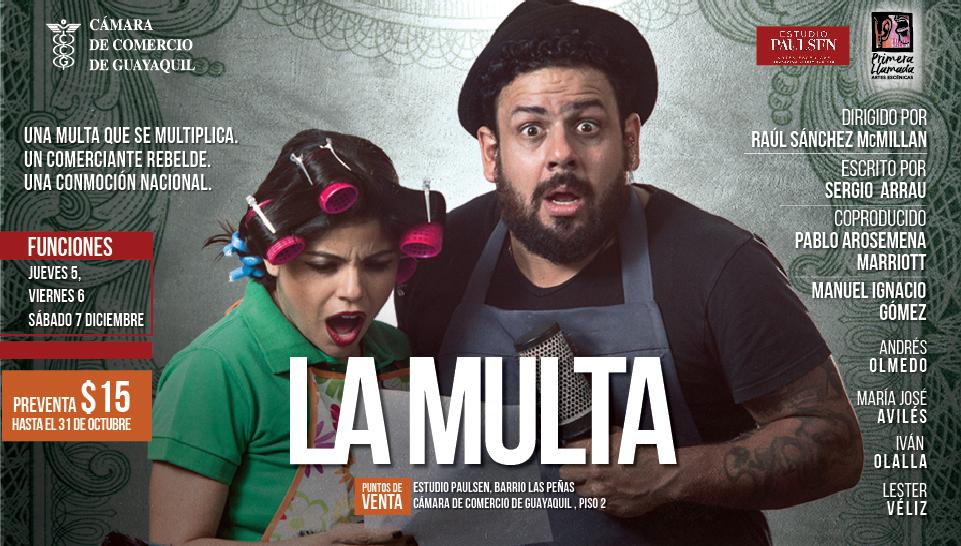 """Obra de teatro """"La Multa"""""""